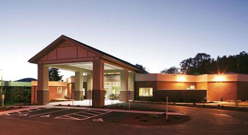 Alleghany Health ED entrance